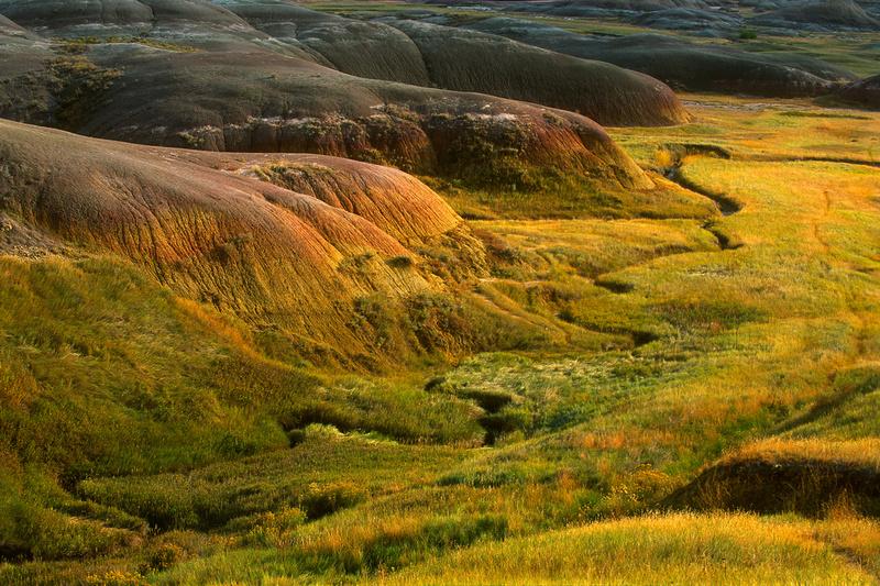 Badlands National Park, Yellow Mounds area (2018)
