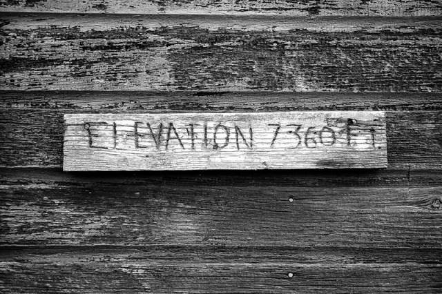 ELEVATION 7,360 FT. Granite, Wyoming (2015)