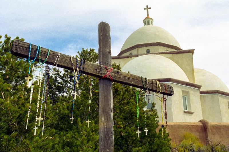 Sangre de Christo Catholic Church, established 1992 in San Luis, Colorado