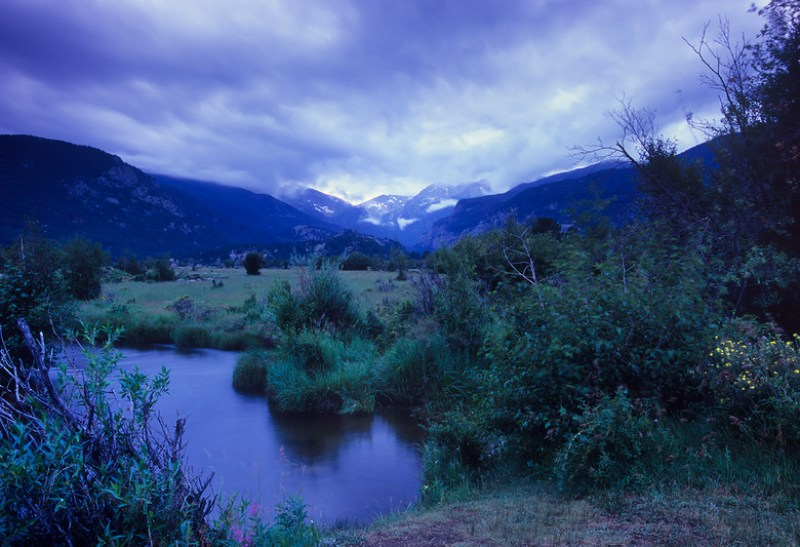 Blue Hour Journal: Moraine Park, Rocky Mountain National Park, Colorado