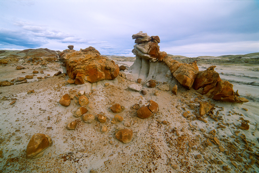 Hunter Wash, Bisti/De-Na-Zin Wilderness, New Mexico