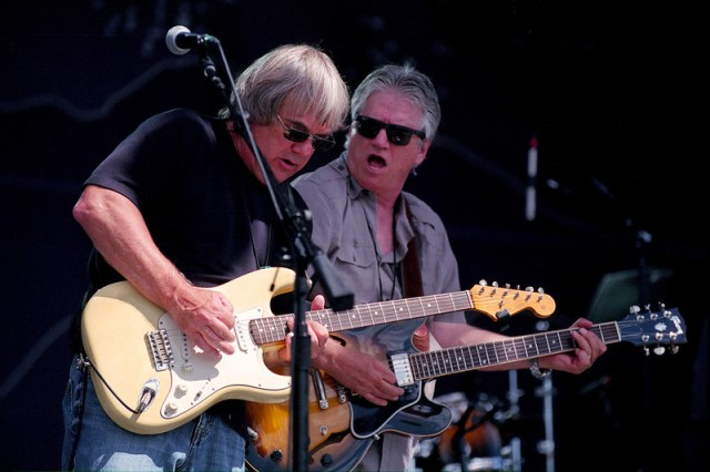 Scott Sellen and Richie Furay at New West Fest, Fort Collins, Colorado (2014)