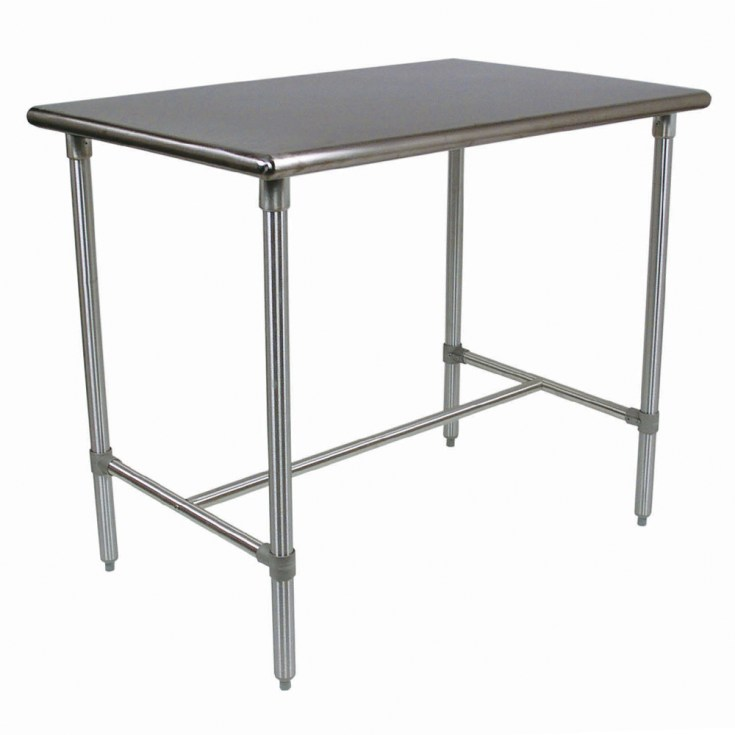 kitchen islands & tables: stainless steel kitchen work table with