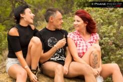 Amel Annoga, Julie Valmont et Francesco Malcom. SolstiX