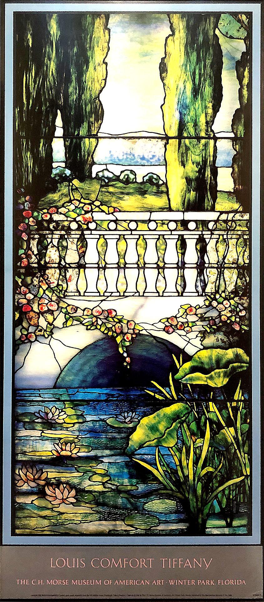 Tiffany Window Poster by John Chao