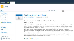 Blog Posts Web Part