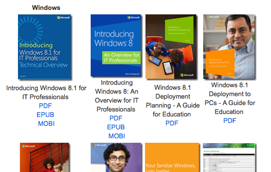 Free eBooks from Microsoft: Windows, Office, Exchange, SharePoint, and More!