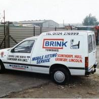 Our brink towbar parts van