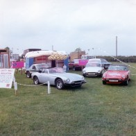 Messingham show 1978 sponcers and showing the full range of TVR