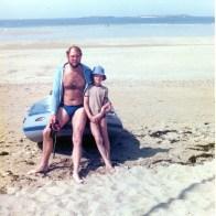 John Cooper and John Cooper junior enjoying the outdoor lifestyle