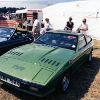 Sponsers and showing at Messingham show 1981 John Cooper TVR dealer