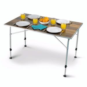 Kampa Dometic Zero Light Oak Large Table – Dometic Tables – 9120000554