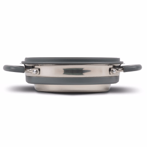 Kampa Dometic Collapsible Saucepan 1L Grey – Collapsible Kitchenware
