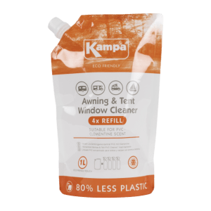 Kampa Dometic Awning & Tent PVC Cleaner 1L Refill Pouch – Eco-Friendly Chemicals