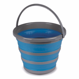 Kampa Dometic 10L Collapsible Bucket Blue – Collapsible Kitchenware