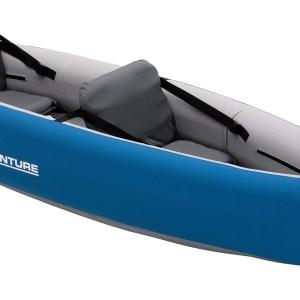 Sevylor Adventure Bundle – 2 Person Canoe, Combo Paddle, Pump and Bag