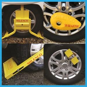 Wheel Clamps and Leg Locks