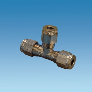 PLS 2041 – T-Pieces 3/16 x 3/16 x 3/16 Copper