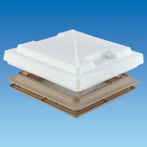 PLS 900081 – 400 x 400 Rooflight c/w Flynet – Beige
