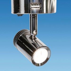 PLS PO788 – MENSA 1 SMD Dimming Spotlight c/w USB port