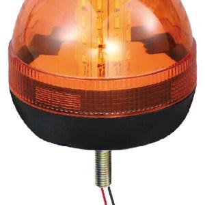 Maypole Beacon – Amber LED 12/24V Single Bolt Fixing R10/IP66 – MP4092