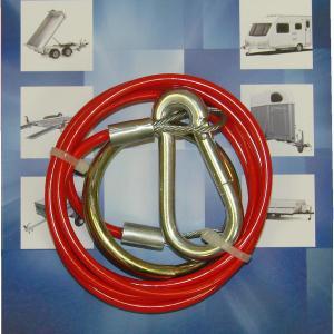 Maypole BReakaway Cable Red 1M X 2mm Bk – MP498B