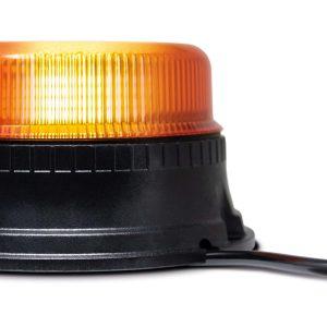 Maypole Beacon – Amber LED Low Profile 12/24V 3X Bolt Fixing R10/IP66 – MP4070