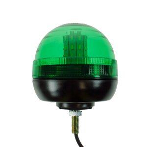 Maypole Beacon – LED Green 12/24V Single Bolt Fixing R10/IP66 – MP40924