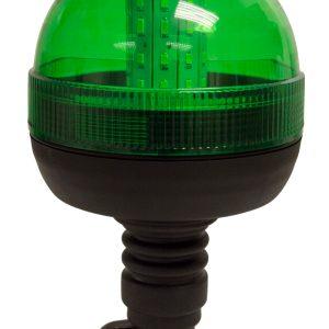 Maypole Beacon – LED Green 12/24V Flexi Din Pole Mount R10/IP66 – MP40934