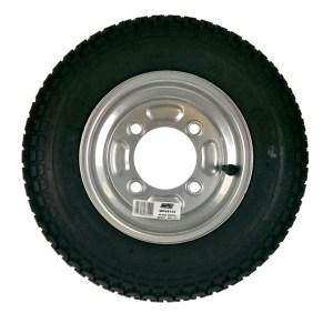 Maypole Wheel & Tyre 350×8″ 4Ply 4 Stud 115mm Pcd 160kg Silver – MP68102
