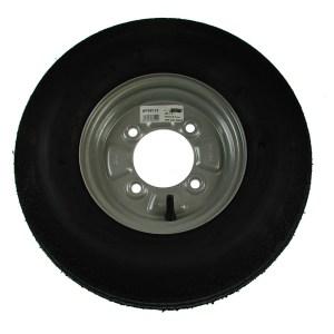 Maypole Wheel & Tyre 400×8″ 4Ply 4Stud 100mm Pcd 265kg Silver – MP68122
