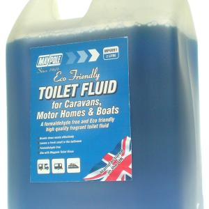 Maypole Eco Toilet Fluid 2L Blue – MP6991