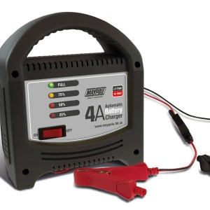 Maypole Battery Charger 4A LED Automatic 12V – MP7104