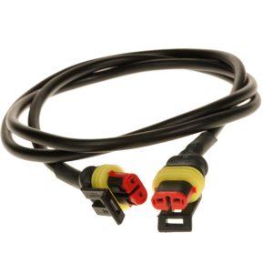 Maypole Harness – 3M Link Lead With 2X Way S/Seal Plug – MP75703