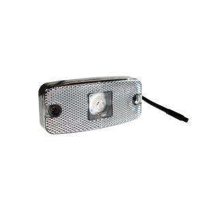 Maypole Lamp – 10-30V Clear LED Front Marker & Reflex Dp – MP8576