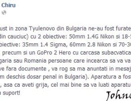 În Bulgaria se fură şi din portbagaj