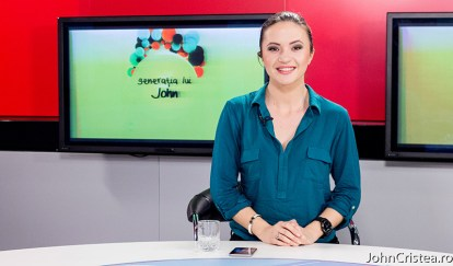 Raluca Muresean, ghid turist personal, generatia lui john