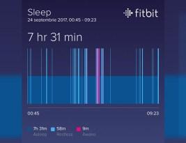 Am dormit prost azi-noapte!