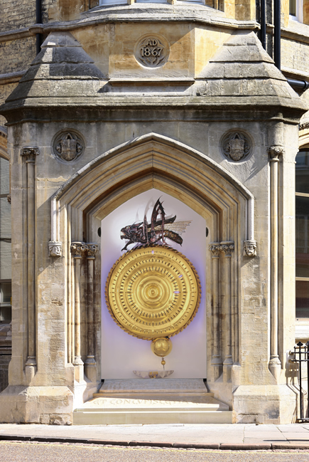 THE CHRONOPHAGE IN CORPUS CHRISTI COLLEGE, CAMBRIDGE