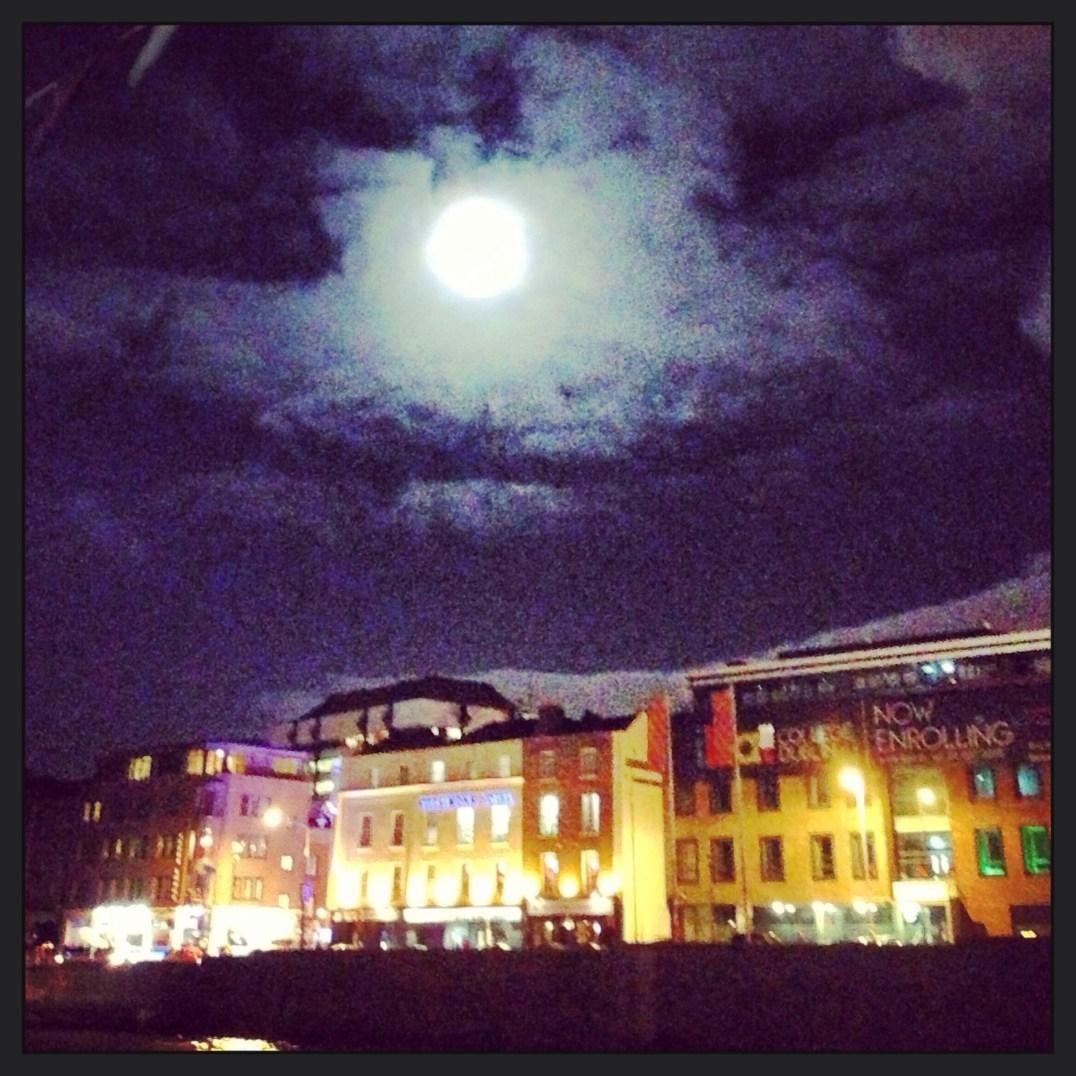 Liffey moon