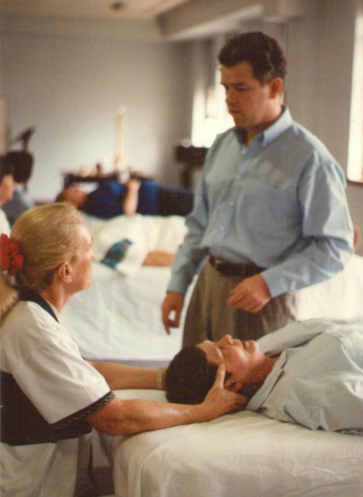 John Dalton Teaching Craniosacral therapy in Brisbane in 1997