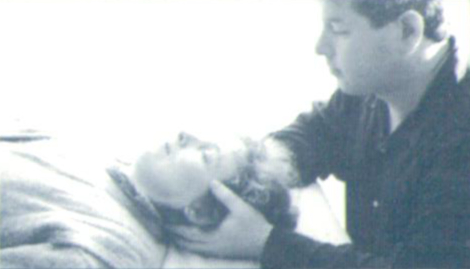 John Dalton Practicing Craniosacral Therapy - Dublin 1995
