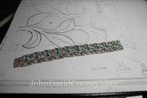 turquois 14K sterling