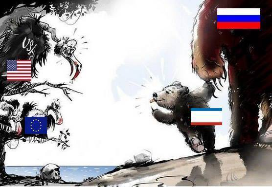 Baby-bear-Krim-with-big-bear-russia-Himbeeren-uncle-sam-Geier