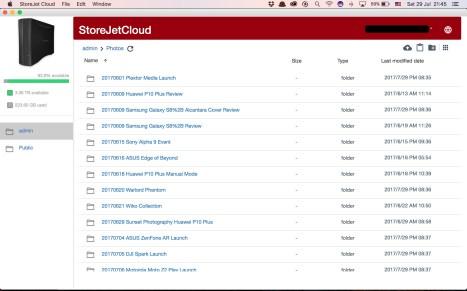 Transcend StoreJet Cloud - 10