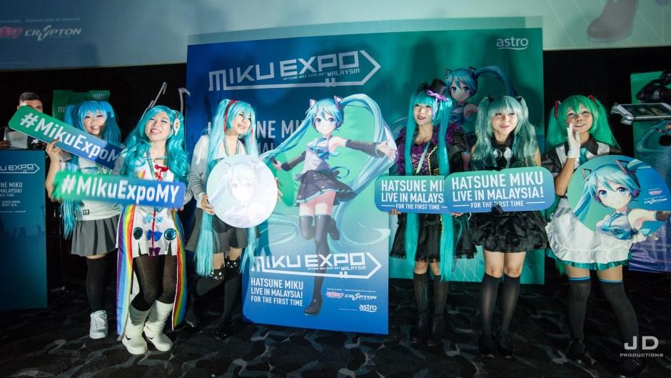 Miku Expo 2017 Malaysia