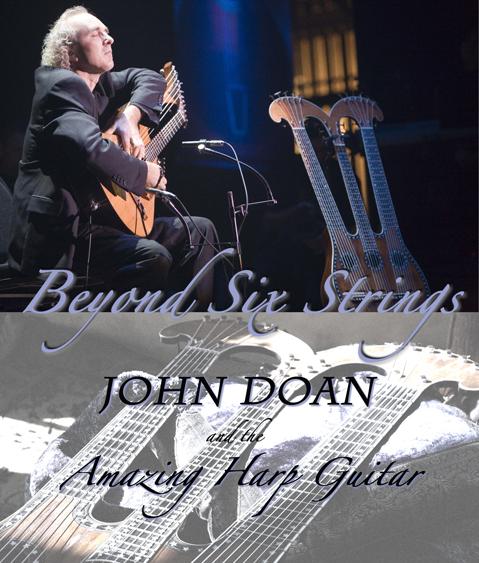 Beyond Six Strings Joan Doan Amazing Harp Guitar poster