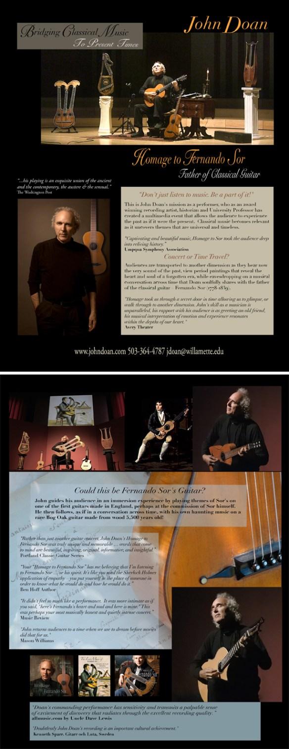 Homage to Fernando Sor – Father of Classical Guitar   John