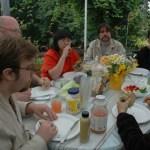 john doan harp guitar retreat meal time with conversations