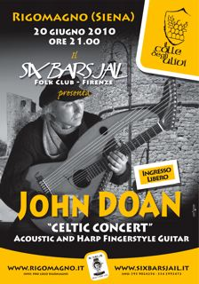John Doan in Six Bars Jail Concert 2010, Italy